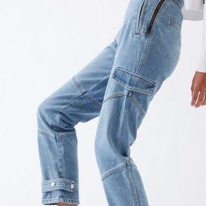 Pacsun cuffed cargo pants 💙